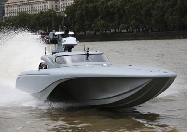 Lancha de motor 'Maritime Autonomy Surface Testbed' (MAST)