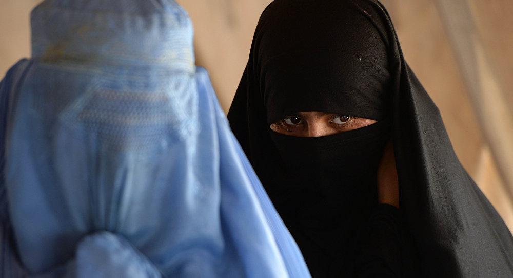 Mujeres en burkas