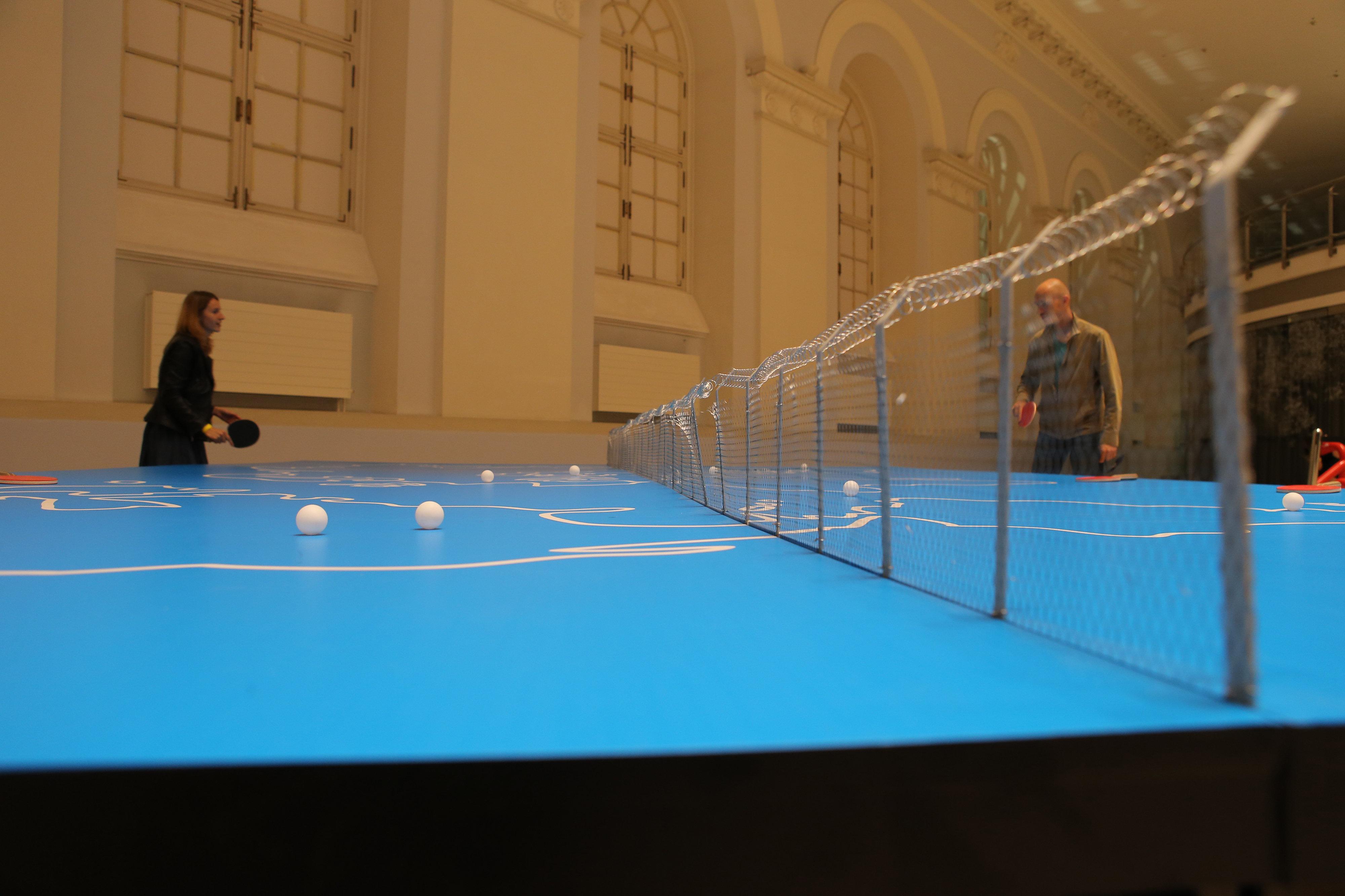 El trabajo del colectivo Doma es uno de los más populares entre los visitantes de la exposición.