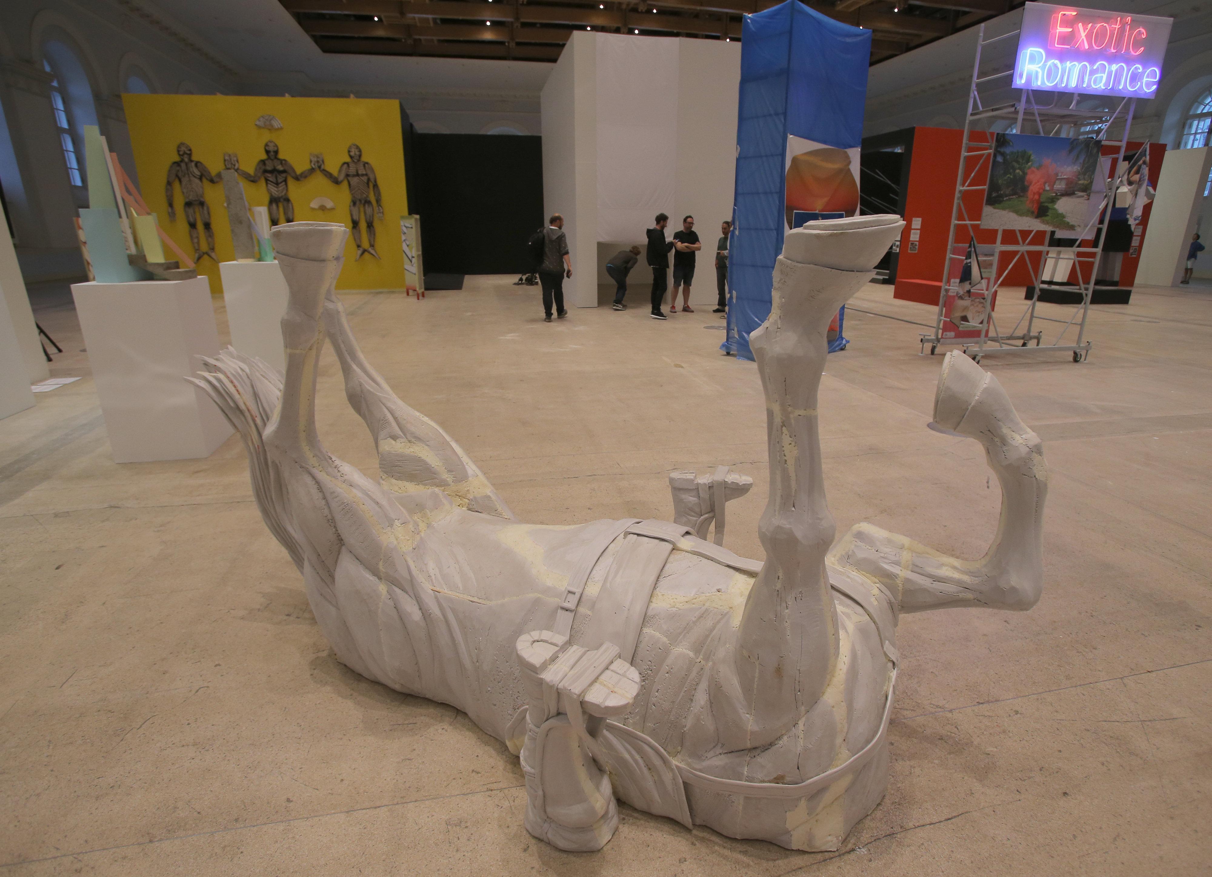 Franco Fasoli, cuyo nombre artístico es Jaz, es otro artista argentino presente en la Bienal