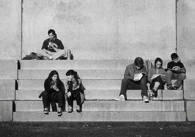 Jóvenes argentinos