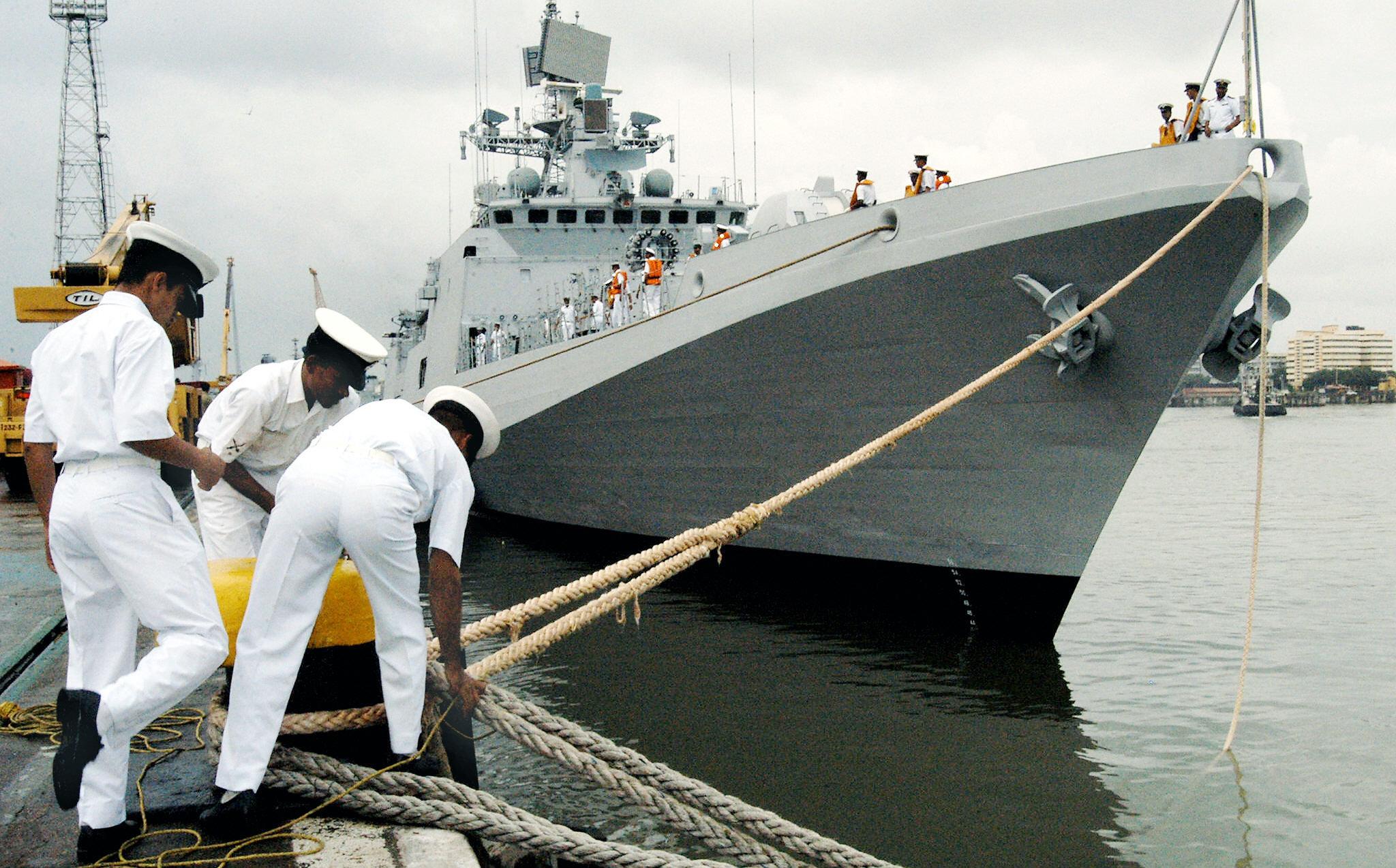 Trishur, fragata de clase Talwar