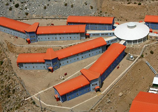 El campo de los mineros en Chile