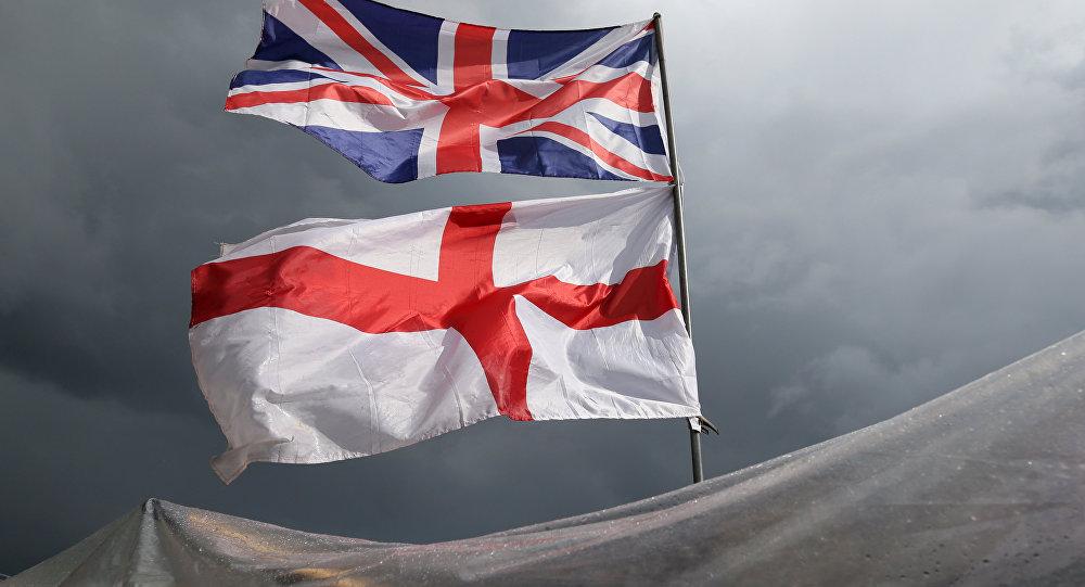 La bandera del Reino Unido y la Irlanda del Norte