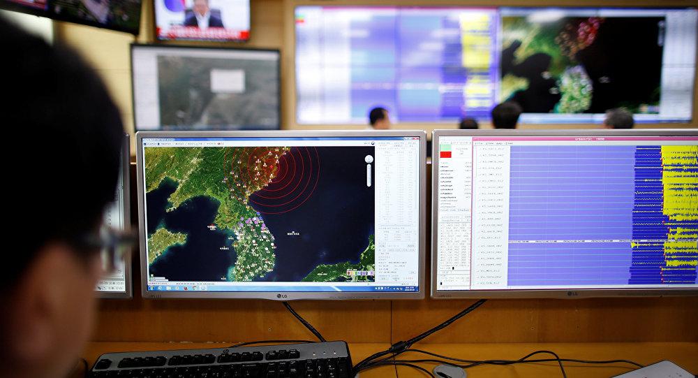 Actividad sísmica en Corea del Norte por una supuesta prueba nuclear (archivo)
