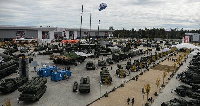 El foro internacional de la técnica militar Army-2016