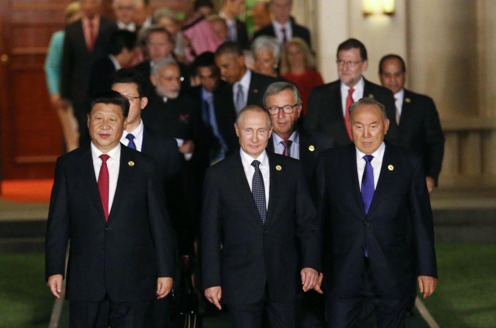 La ciudad china de Hangzhou acogió los días 4 y 5 de septiembre la cumbre G20.