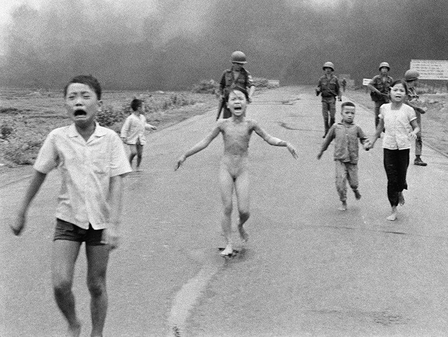 La fotografía tomada por Nick Ut durante la Guerra de Vietnam ha sido galardonada con el premio Pulitzer