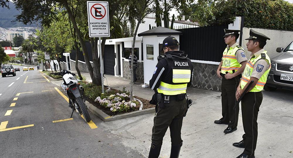 Policías de Ecuador