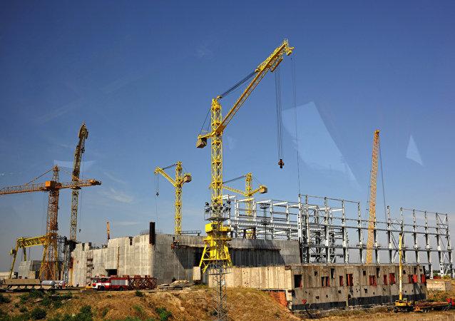 Construcción de la central nuclear Belene en Bulgaria (archivo)