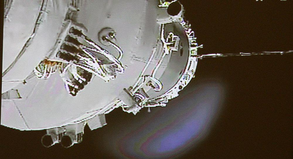 El modulo chino Tiangong-1 (archivo)