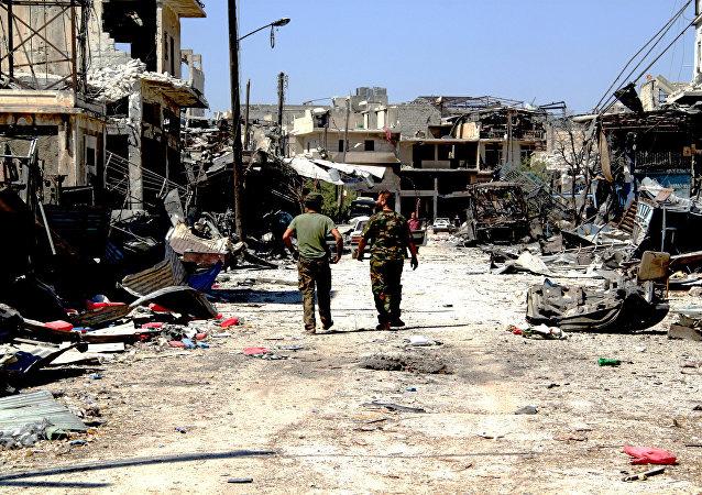 La situación en Siria (archivo)