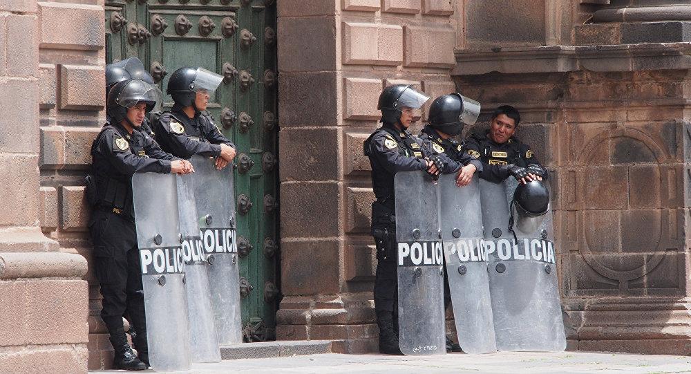 Policías peruanos (imagen referencial)