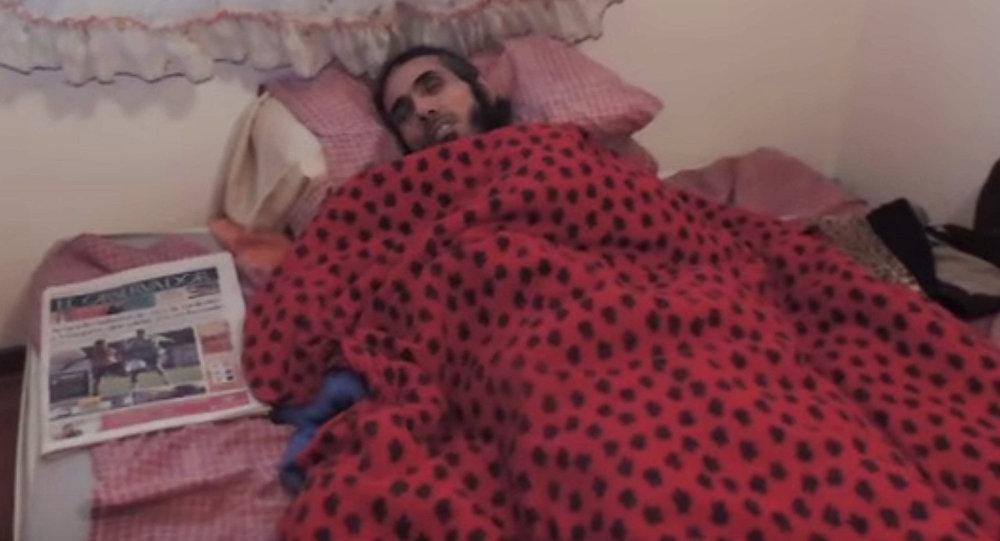 Jihad Ahmad Deyab, exprisionero de Guantánamo (archivo)