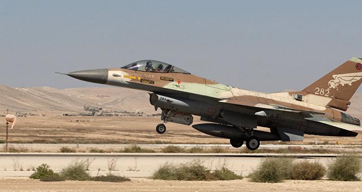 Un F-16 israelí