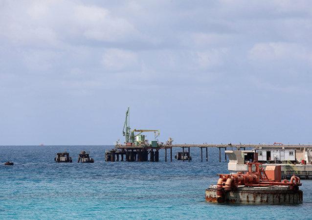El terminal petrolero libio de Zueitina (archivo)