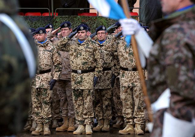Las tropas de Eurocuerpo