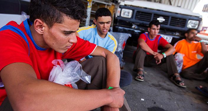 Migrantes en España (imagen referencial)