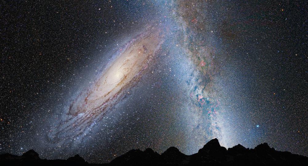 La Vía Láctea vista por el telescopio Hubble de la NASA