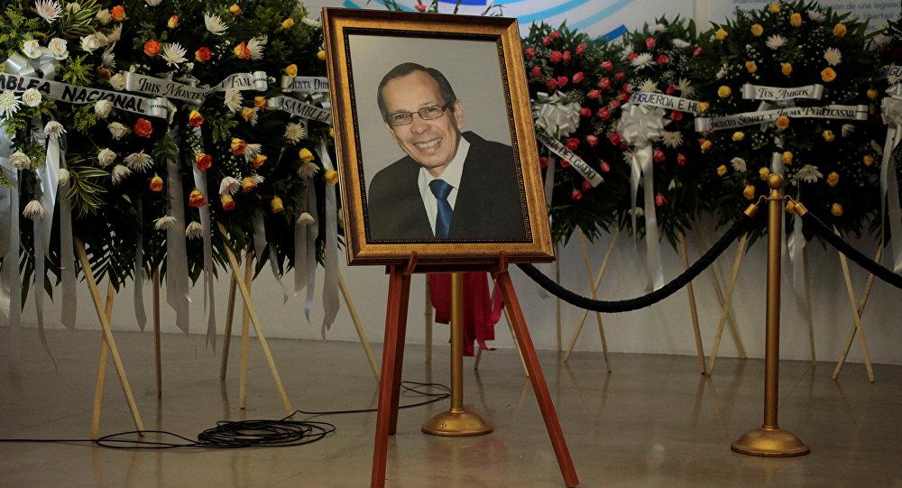 El funerario de René Núñez Téllez, presidente del Parlamento de Nicaragua