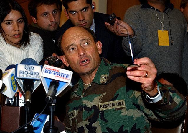 Juan Emilio Cheyre, excomandante en Jefe del Ejército de Chile