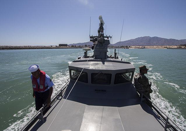 Barco de la Armada de México (archivo)