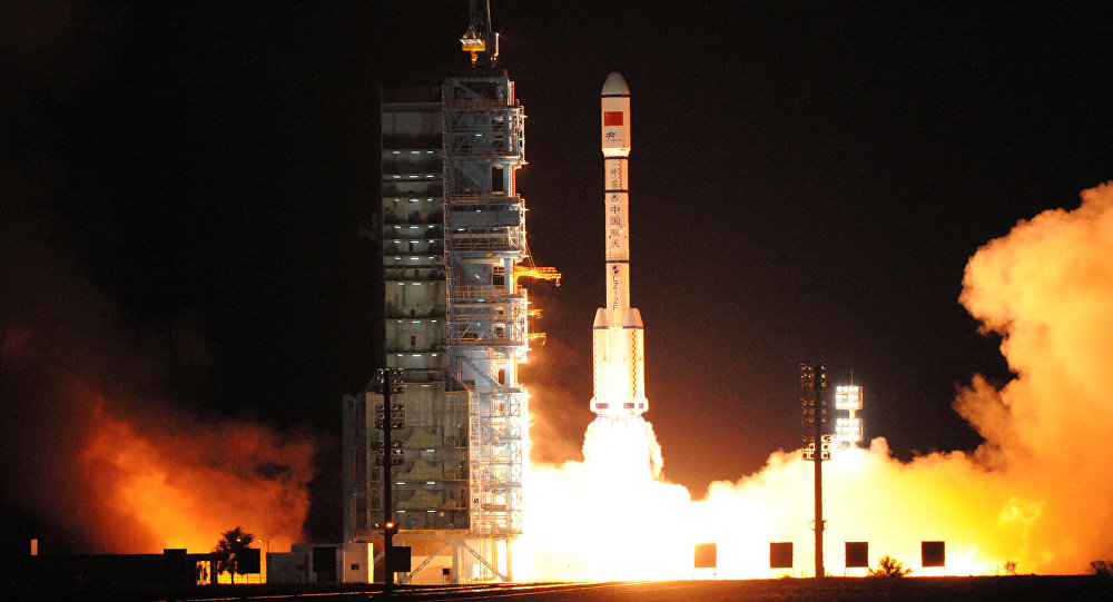 China lanza al espacio el laboratorio habitable Tiangong-2