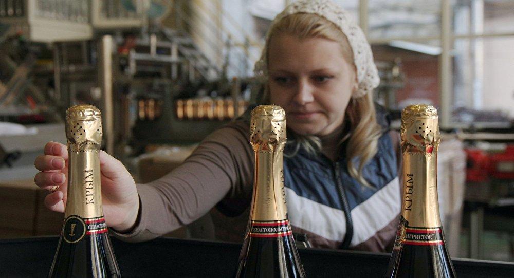 Fabricación de vinos en Crimea