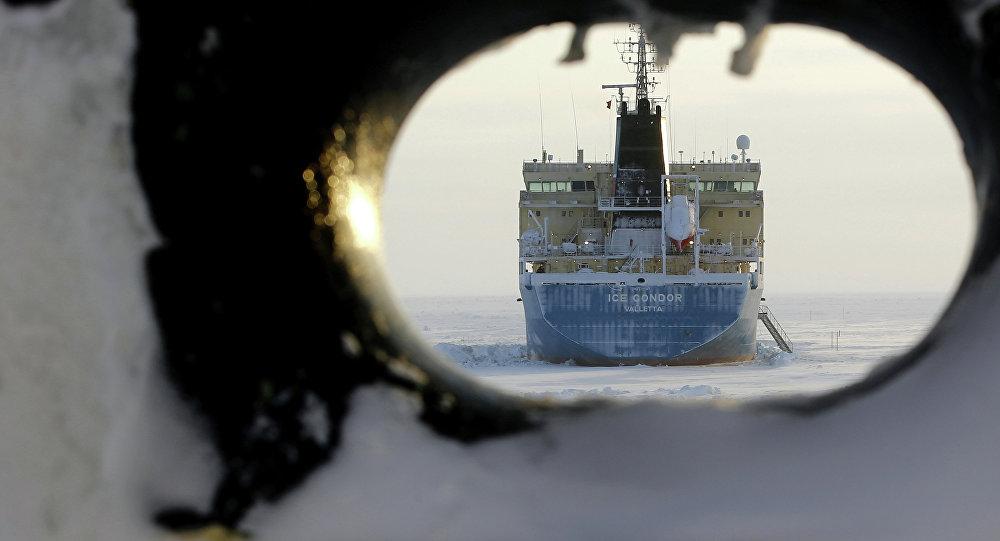 Buque petrolero ruso (archivo)