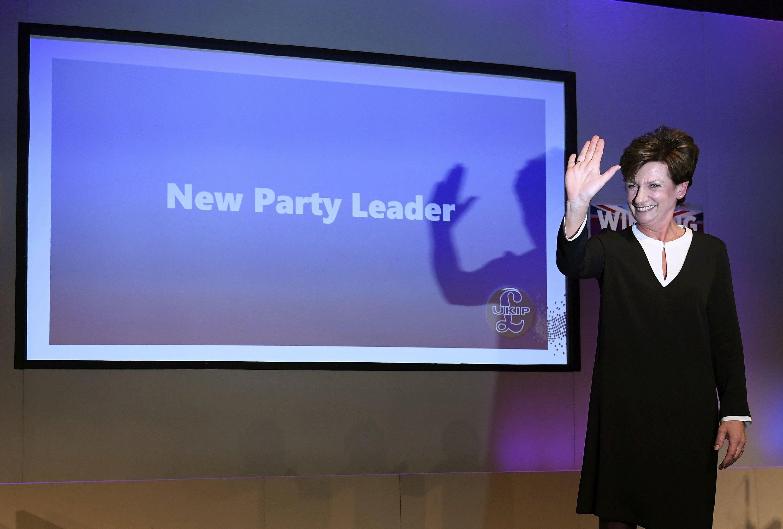 Diane James, nueva líder del UKIP