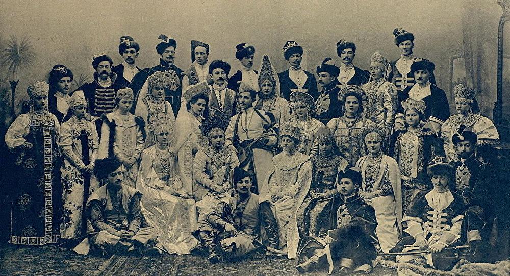 Baile de trajes de Nicolás II, 1903