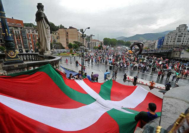 La ikurriña, la bandera del País Vasco