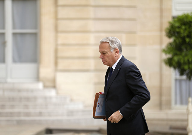 Jean-Marc Ayrault, ministro de Exteriores de Francia