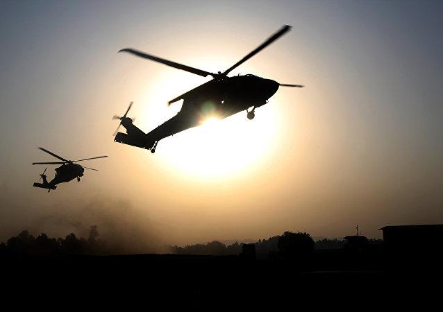 Entrenamiento de la 101 brigada aerea en Jalalabad, 16 de septiembre de 2015
