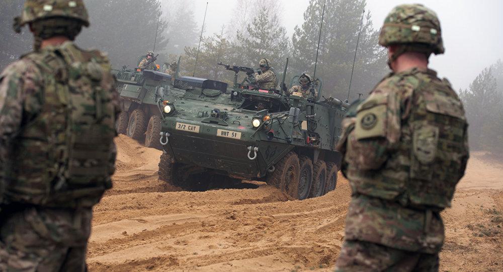 Ejercicios militares de la OTAN (archivo)