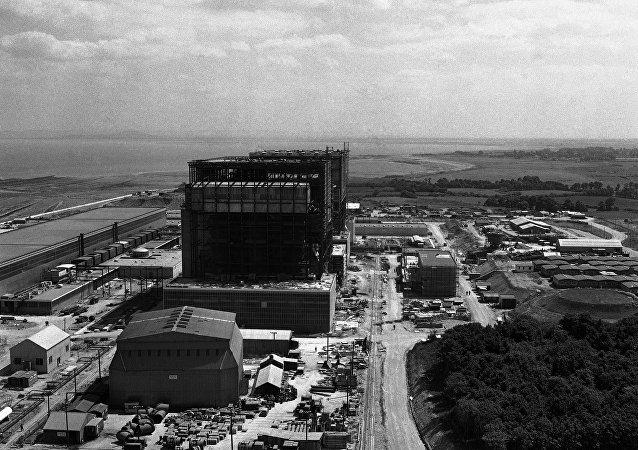 Central nuclear Hinkley Point