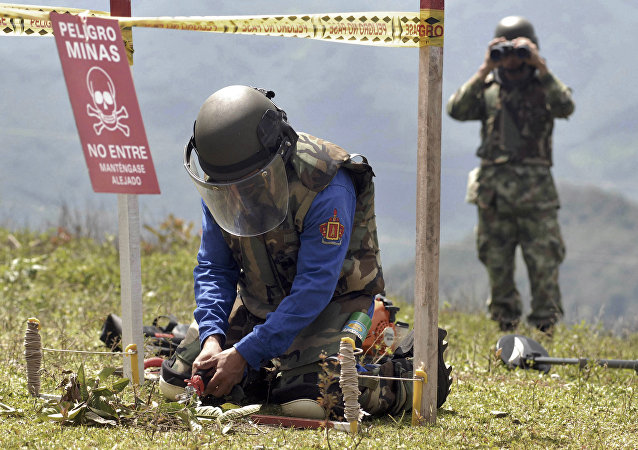 Colombia Land Mines