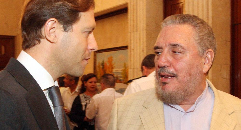 Fidel Ángel Castro Díaz-Balart, científico cubano