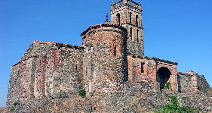 Mezquita de Almonaster la Real en Andalucía