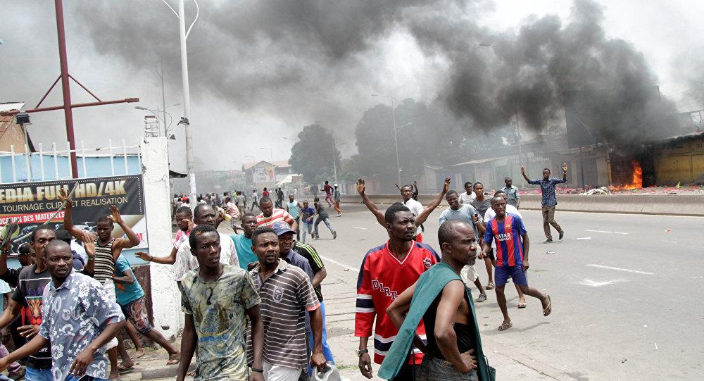 Choques de opositores con la policía en Congo Democrático