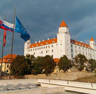 Presburg Castle in Bratislava