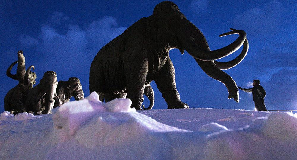 Un mamut (imagen referencial)