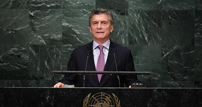 Mauricio Macri toma la palabra en la Asamblea General de la ONU