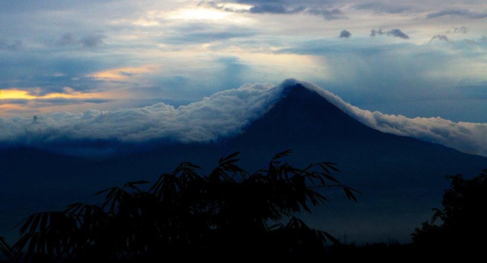 La isla indonesa de Java