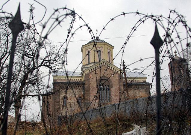 Iglesia Serbia en Kosovo