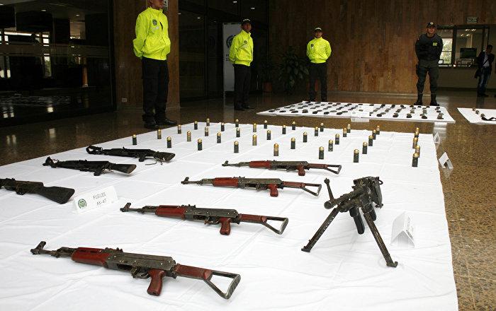 México acordó con EEUU monitoreo de tráfico de armas