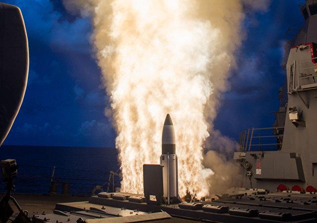 Un misil estadounidense (archivo)