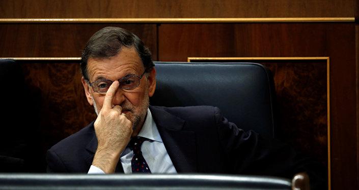 Mariano Rajoy, el presidente del Gobierno en funciones de España