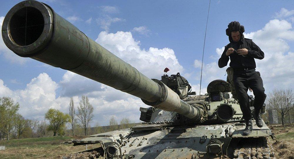 Un militar ucraniano