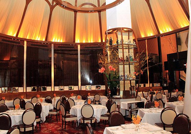 Un restaurante francés